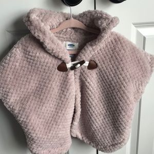 Light lilac Old Navy Poncho, 3T